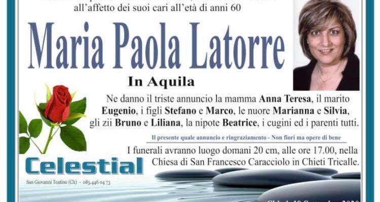 Maria Paola Latorre