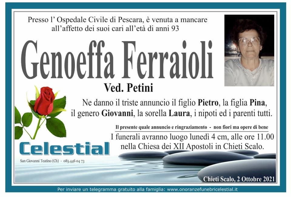 Genoeffa Ferraioli